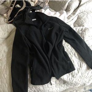 Columbia Black Zip